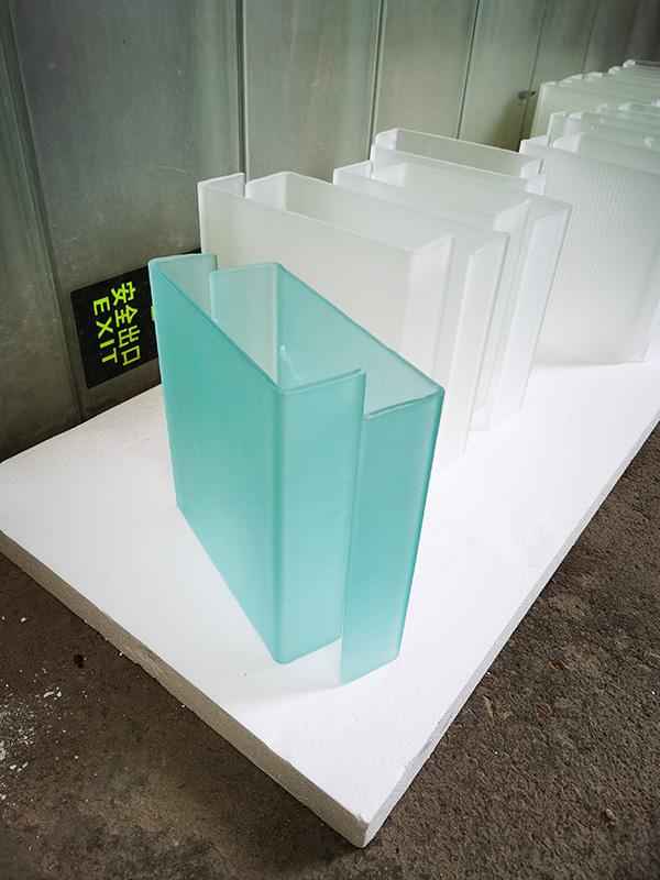 U profile glass